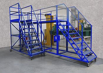 Лестницы и платформы